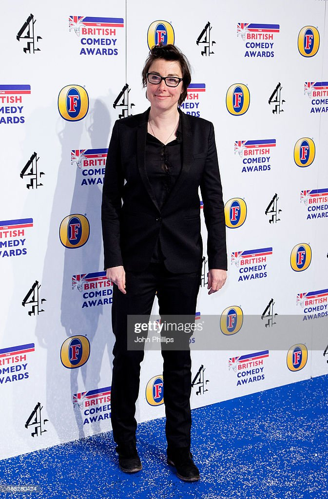 <a gi-track='captionPersonalityLinkClicked' href=/galleries/search?phrase=Sue+Perkins&family=editorial&specificpeople=3251651 ng-click='$event.stopPropagation()'>Sue Perkins</a> attends the British Comedy Awards at Fountain Studios on December 12, 2012 in London, England.