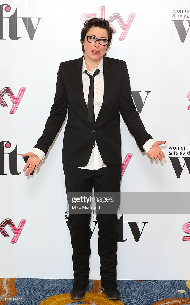 Sue Perkins attends the Women in TV & Film Awards at London Hilton on December 7, 2012 in London, England.