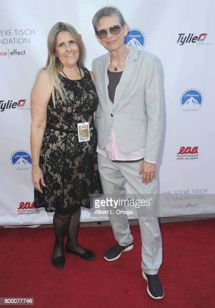 Sue Procko and Heather Hinkel attend the Entertainment AIDS Alliance's Annual EAA Wine Wisdom Vision Event Benefiting Village Health Foundation And...