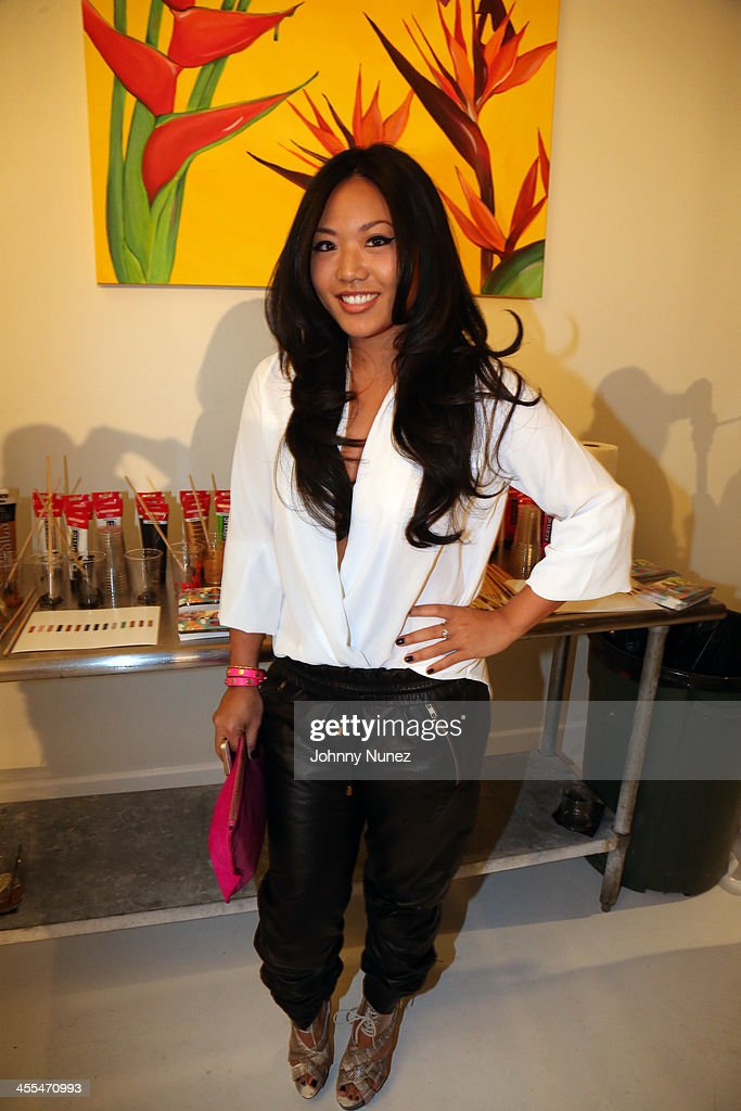 Sue Tsai attends the Book Of Kings launch event, hosted by T.I. and Iggy Azalea at Pillars 38 on December 11, 2013 in New York City.
