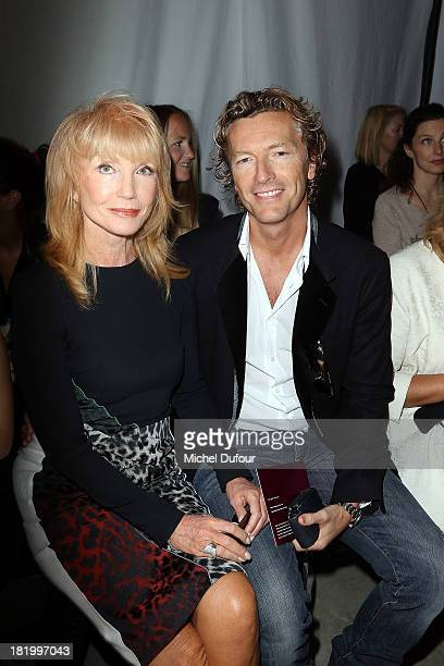 Sue Wanner and Warren Todd attend Roland Mouret show as part of the Paris Fashion Week Womenswear Spring/Summer 2014 on September 27 2013 in Paris...