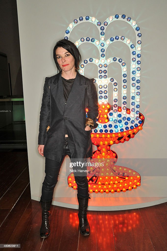 Sue Webster attends the private view of Isabella Blow: Fashion Galore! Party at Somerset House on November 19, 2013 in London, England.