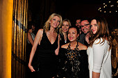 Sue Wong and guests attend her 'Mythos And Goddesses' after party at the Cedars on March 9 2015 in Hollywood California