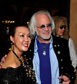Sue Wong and John Walsh attend her 'Mythos And Goddesses' after party at the Cedars on March 9 2015 in Hollywood California