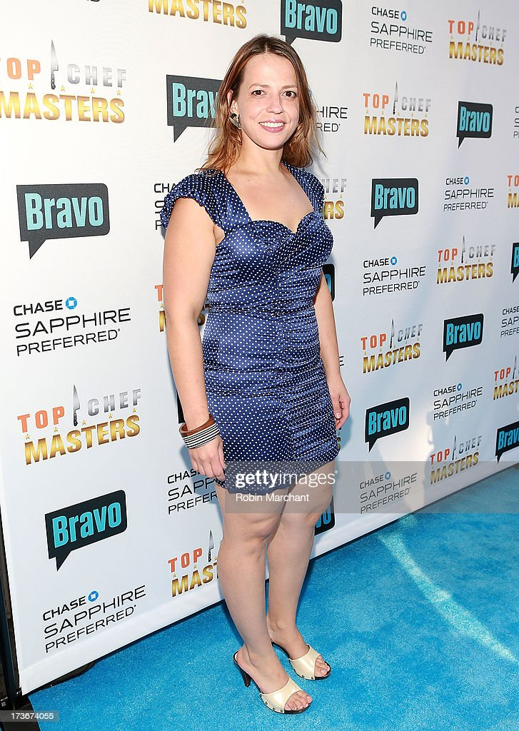 Sue Zemanick attends Bravo's 'Top Chef Masters' Season 5 Premiere Celebration at 82 Mercer on July 16, 2013 in New York City.