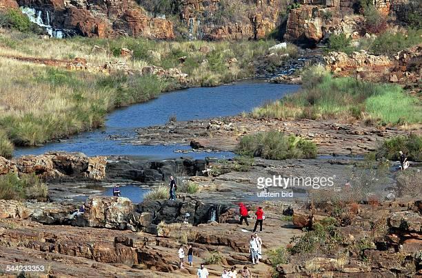 Touristen im Blyde River Canyon