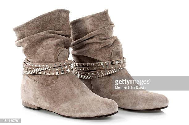 Suede Leather's Boots