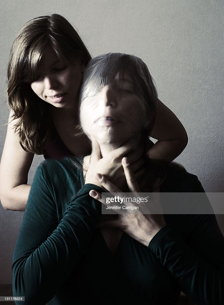 Suffocation : Stock Photo
