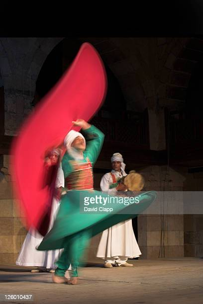 Sufi dancers at a traditional show in Cairo, Egypt