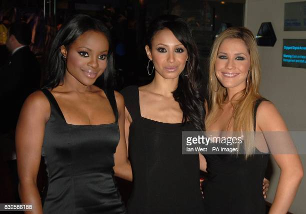 Sugababes arrive ahead of the World Premiere and Royal Performance of Casino Royale Odeon Leicester Square London Picture date Tuesday 14 October...