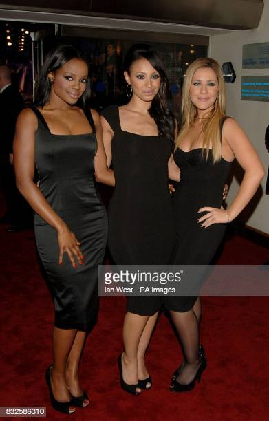 Sugababes arrive for the World Premiere and Royal Performance of Casino Royale Odeon Leicester Square London Picture date Tuesday 14 October 2006...