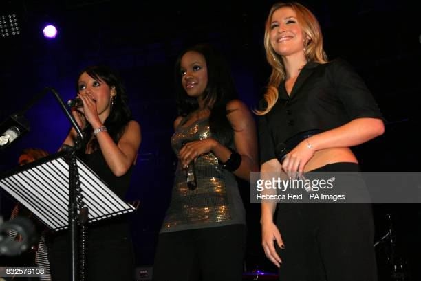 Sugababes at the Camden Roundhouse in North London