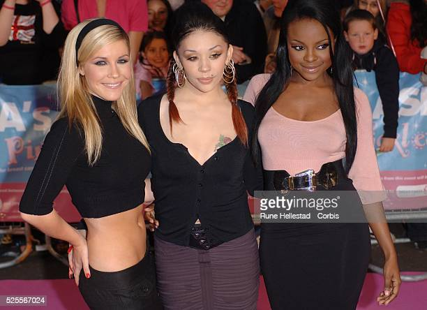 Sugababes attend The Tickled Pink charity event at Royal Albert Hall in London