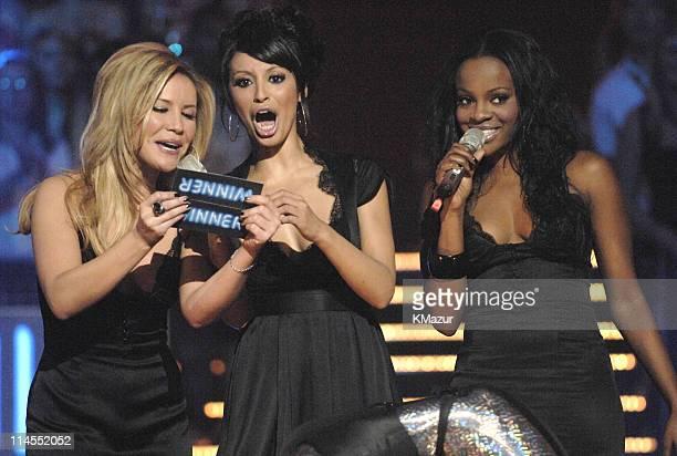 Sugababes during 2006 MTV European Music Awards Copenhagen Show at Bella Centre in Copenhagen Denmark