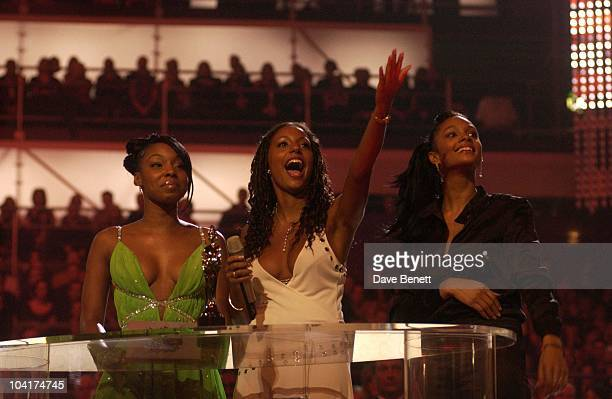 Sugababes The Brit Awards 2003 Earl's Court London