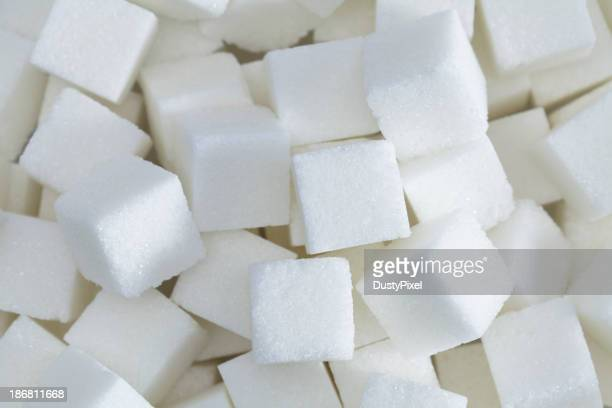 Morceau de sucre arrière-plan
