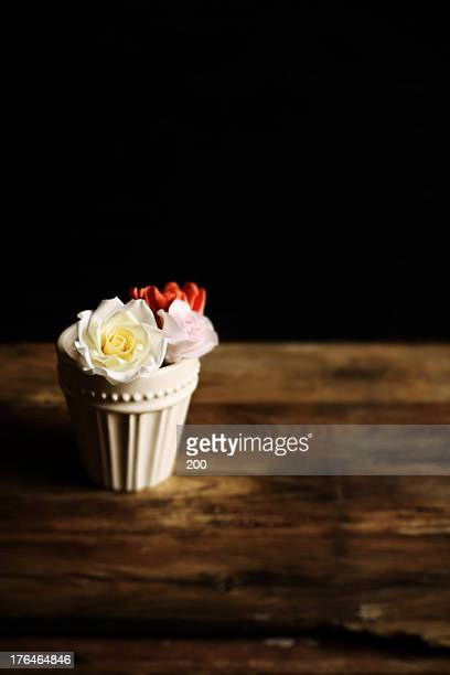 Sugar flower roses
