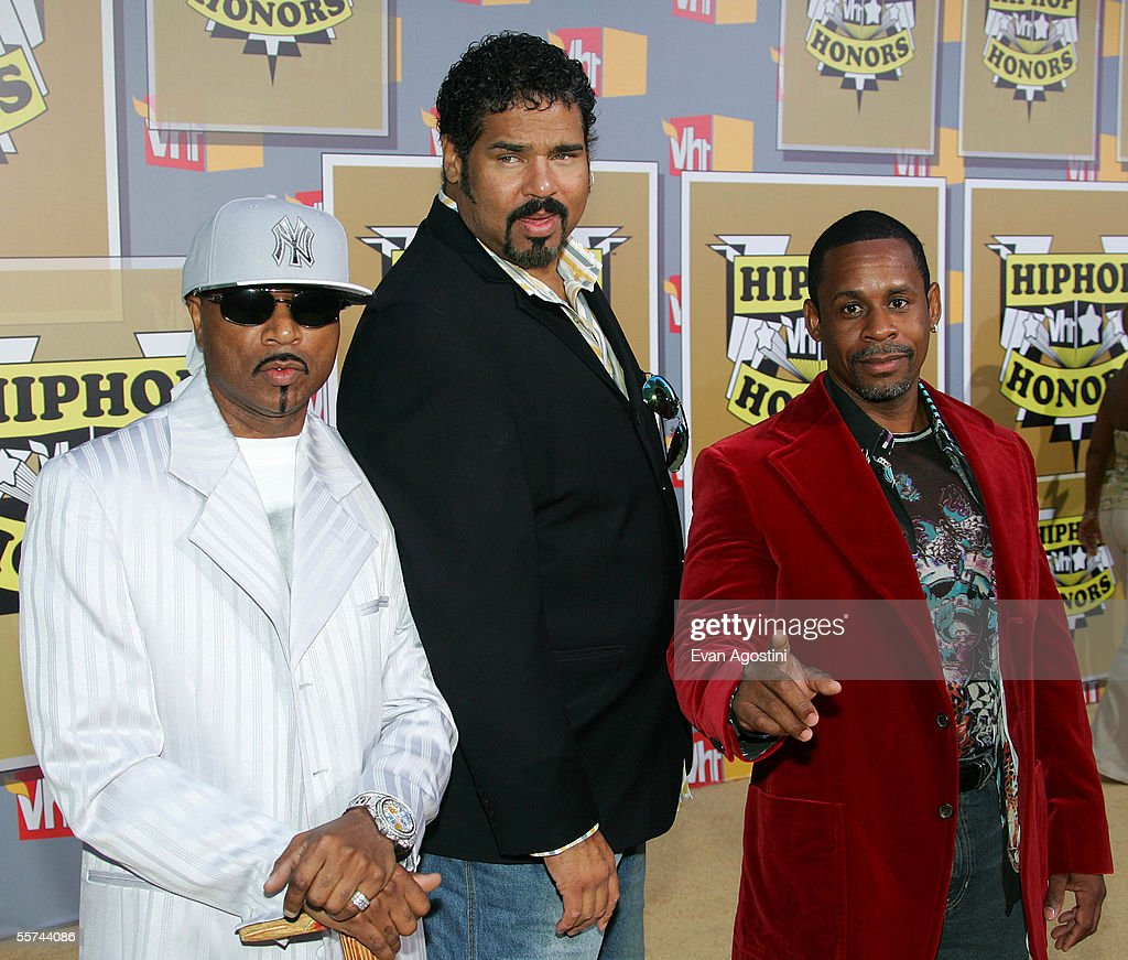 Sugar Hill Gang members Hen Dogg, Wonder Mike and Master Gee attend the Second Annual VH1 Hip Hop Honors at the Hammerstein Ballroom September 22, 2005 in New York City.
