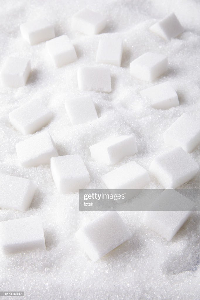 Sugar lumps : Stock Photo