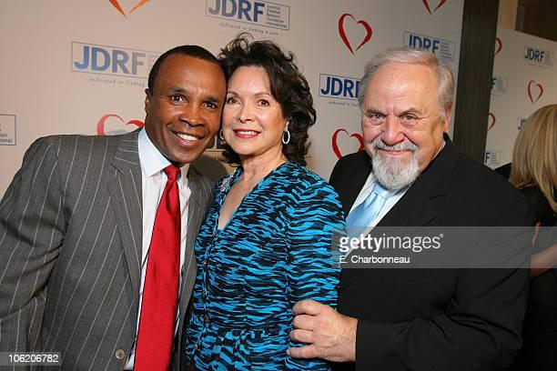 Sugar Ray Leonard Jolene Schlatter and George Schlatter