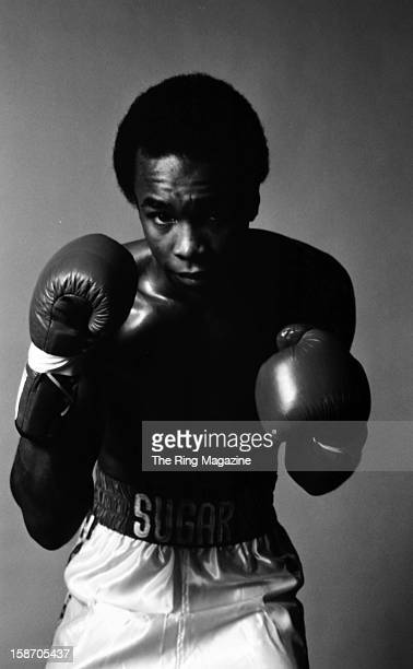 Sugar Ray Leonard poses for a portrait