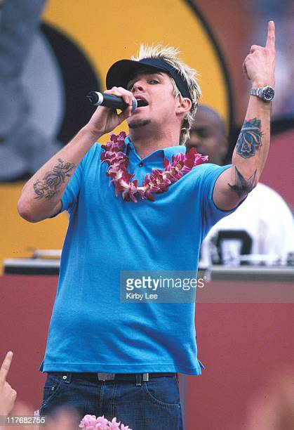 Sugar Ray performs during halftime of the AFCNFC Pro Bowl at Aloha Stadium on Sunday Feb 9 2002