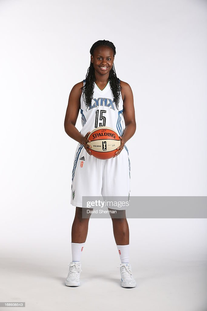 Sugar Rodgers #15 of the Minnesota Lynx poses for portraits during 2013 Media Day on May 16, 2013 at the Minnesota Timberwolves and Lynx LifeTime Fitness Training Center at Target Center in Minneapolis, Minnesota.