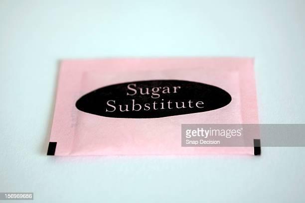 Sugar substitute sweetener packet