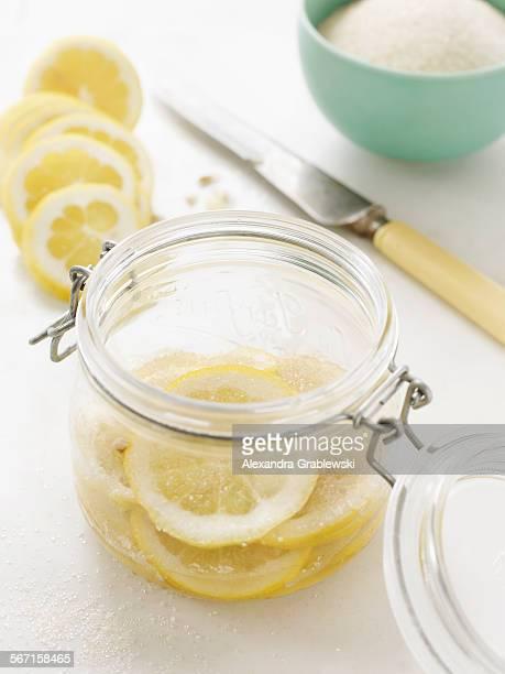 Sugared Lemon Slices