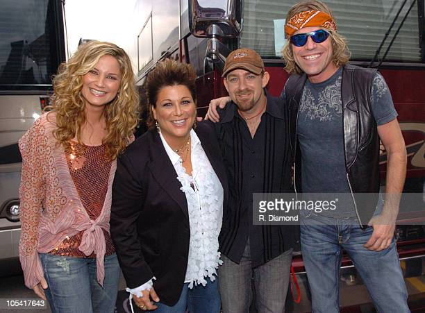 Sugarland with Big Kenny during 2005 CMT Music Awards PreParty at Outside Gaylord Entertainment Center in Nashville Tennessee United States