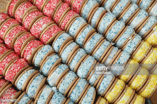 Sugary pastries await visitors at a street fest in immigrantheavy Neukoelln district to celebrate the end of the Muslim month of Ramadan on July 5...