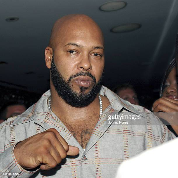 Suge Knight during Kanye West Hosts GOOD Music Pre Vma Party at Shore Club in Miami FL United States