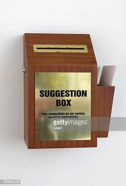 Suggestion Box Stock Photos And Pictures Getty Images