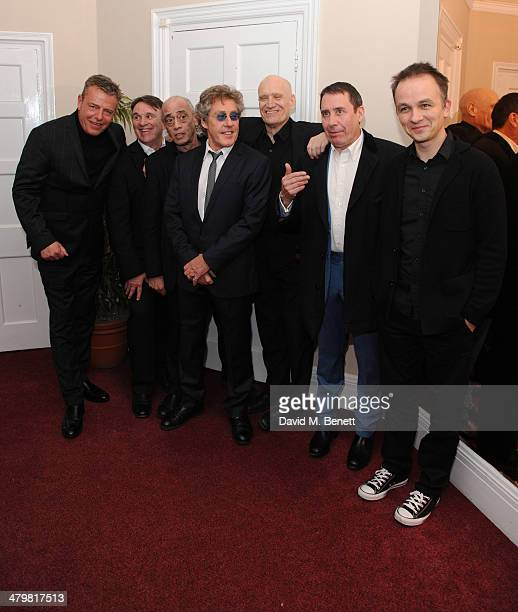 Suggs Chris Difford Roger Daltrey Wilko Johnson Jools Holland and Band members attends 'An Evening With Suggs and Friends' for Pancreatic Cancer UK...