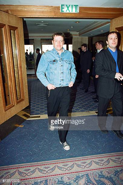 Suggs lead singer of British ska group Madness at the Captital Radio Help A London Child Awards 4th April 1996