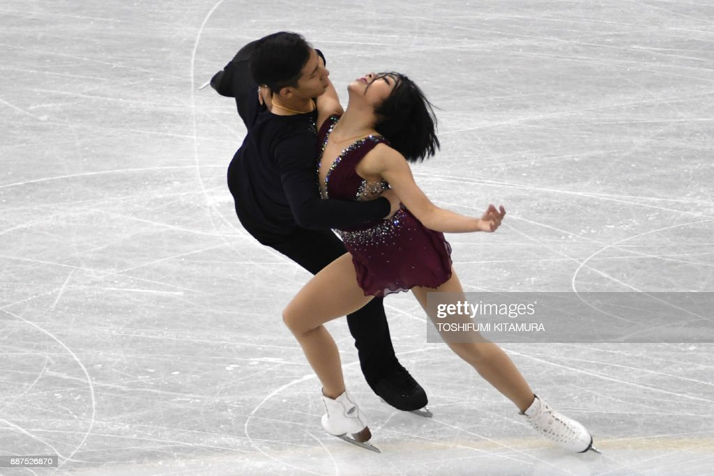 Вэньцзин Суй - Цун Хань / Wenjing SUI - Cong HAN CHN - Страница 11 Sui-wenjing-and-han-cong-of-china-compete-during-the-pairs-short-of-picture-id887526870