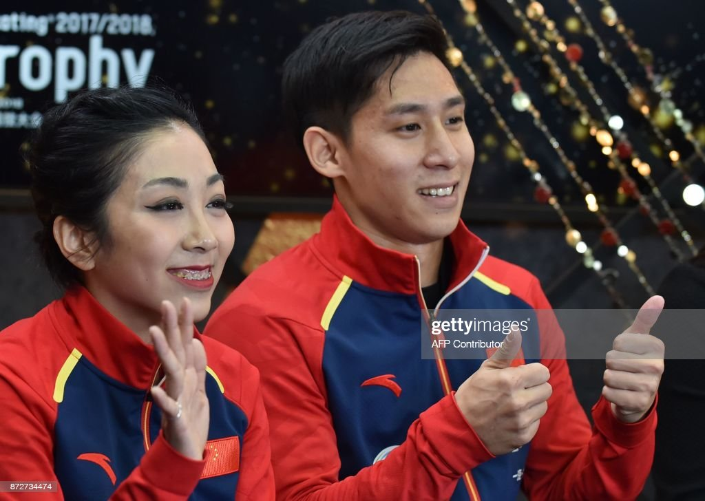 Вэньцзин Суй - Цун Хань / Wenjing SUI - Cong HAN CHN - Страница 11 Sui-wenjing-and-han-cong-of-china-gesture-following-their-pairs-free-picture-id872734474