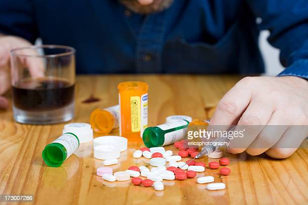 Suicide attempt with drugs