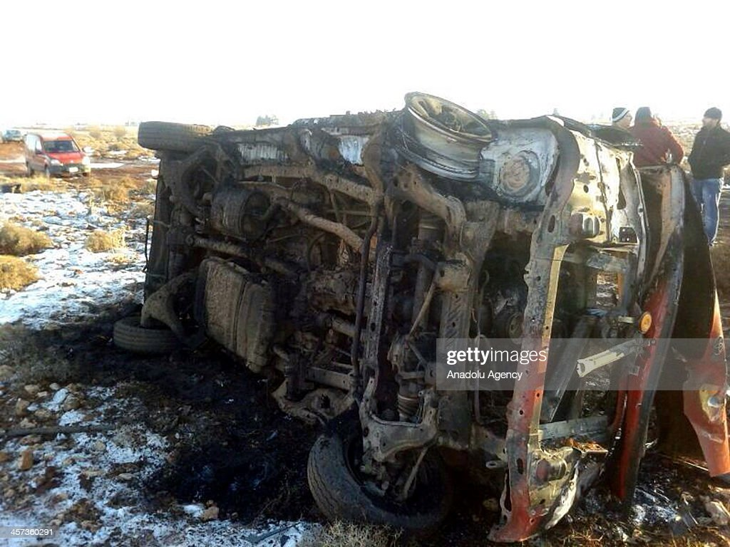 A suicide bomber drove an explosives-laden vehicle into a Hezbollah camp in the eastern Lebanese city of Baalbek leaving several people injured. on December 17, 2013.