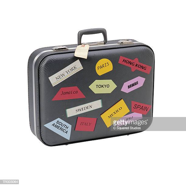 Suitcase Stickers Stock Photos And Pictures Getty Images