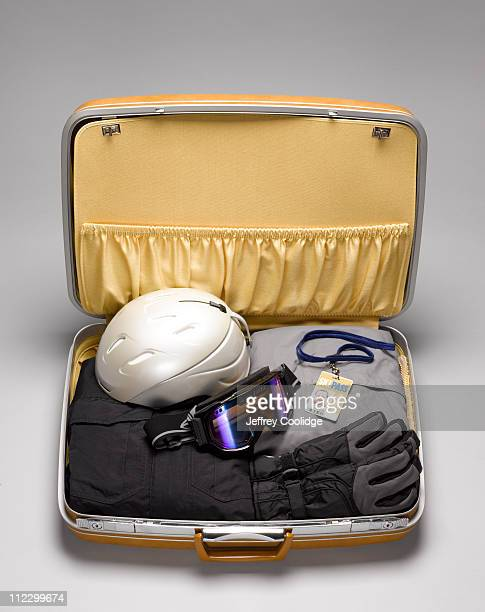 Suitcase with Ski Wear