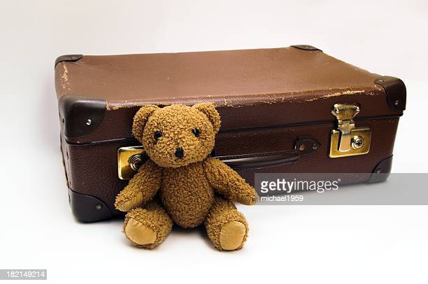 Koffer mit Teddy 6