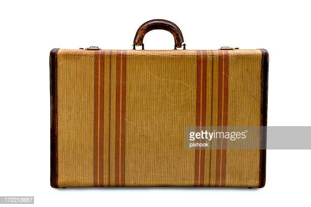 Suitcase wth Strips