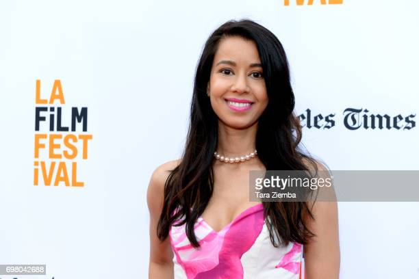 Sujata Day attends the screening of '20 Weeks' during the 2017 Los Angeles Film Festival at Arclight Cinemas Culver City on June 19 2017 in Culver...