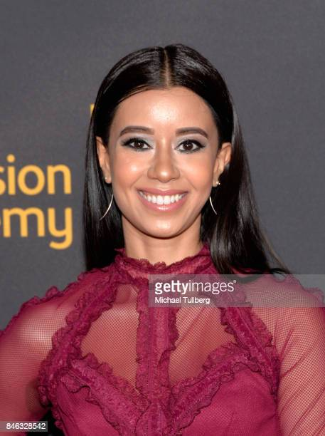 Sujata Day attends the Television Academy and SAGAFTRA's 5th annual Dynamic and Diverse Celebration at Saban Media Center on September 12 2017 in...