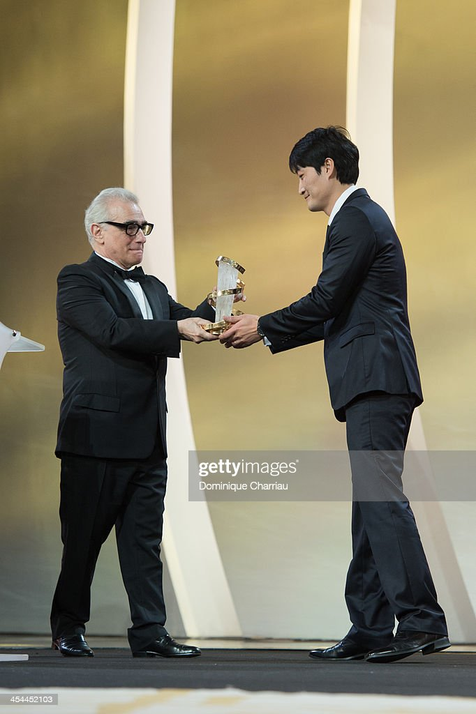 Su-jin Lee awarded Gold Star by Jury President Martin Scorsese during the Award Ceremony of the 13th Marrakech International Film Festival on December 7, 2013 in Marrakech, Morocco.