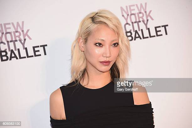 Sujin Park attends the New York City Ballet 2016 Fall Gala at the David H Koch Theater at Lincoln Center on September 20 2016 in New York City