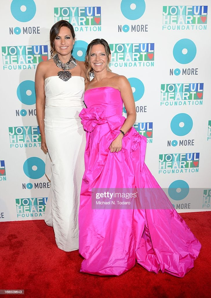 Sukey Novogratz and <a gi-track='captionPersonalityLinkClicked' href=/galleries/search?phrase=Mariska+Hargitay&family=editorial&specificpeople=204727 ng-click='$event.stopPropagation()'>Mariska Hargitay</a> attend the 2013 Joyful Heart Foundation gala at Cipriani 42nd Street on May 9, 2013 in New York City.