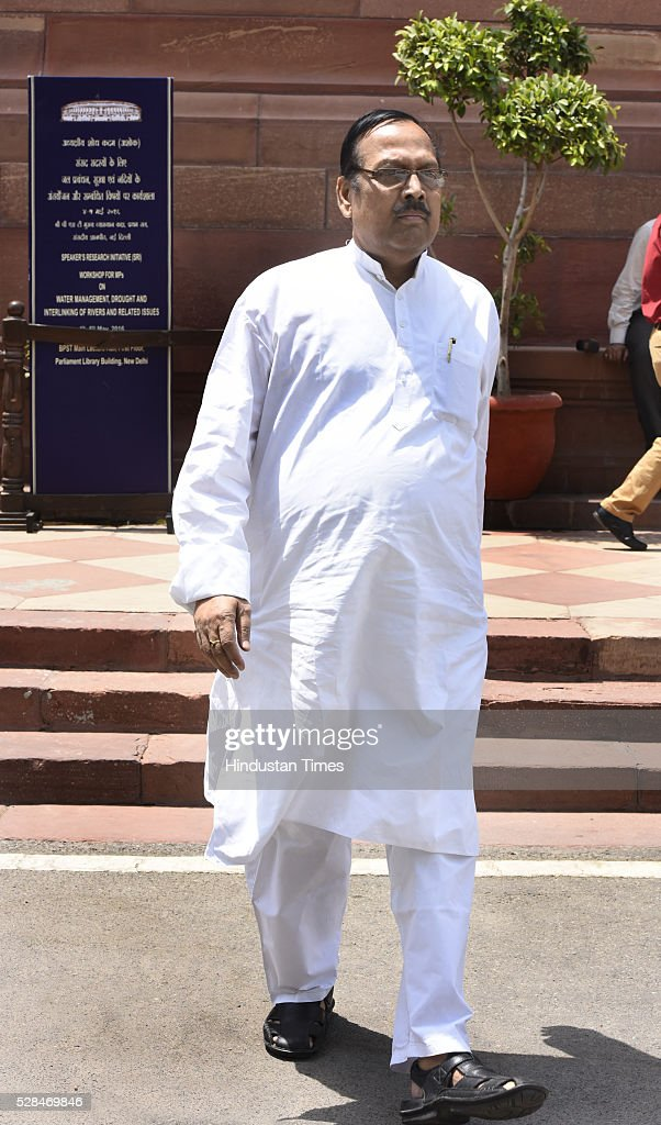 Sukhendu Sekhar Roy during the Parliament Session at Parliament house on May 5, 2016 in New Delhi, India. The Lok Sabha has passed the Insolvency and Bankruptcy code 2016 with all the amendments proposed by the joint committee of Parliament being accepted by the government.