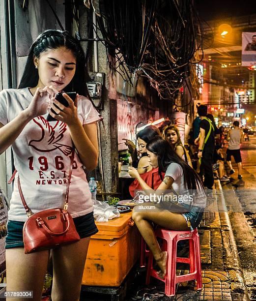 Sukhumvit Road, Soi 4 Rot Licht Landkreis Bangkok